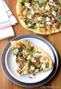 Amazing Fig Prosciutto Pizza Recipe | ASpicyPerspective...