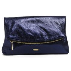 Garland Fold Clutch Sapphire, $198, now featured on Fab.