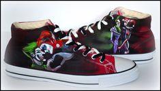 Popular items for joker shoes on Etsy