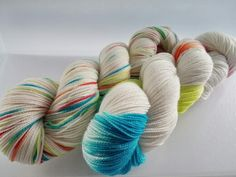 https://www.etsy.com/listing/205487871/dyed-to-order-snowy-lights-hand-dyed  Snowy Lights: a new colorway from the 10/1 update! Find this and other great yarn at www.knitmona.etsy.com