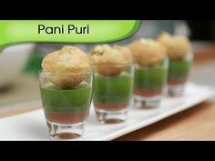 How To Make Pani Puri | Indian Fast Food Recipe | Golgappa Recipe