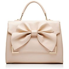 Forever New Raquel Bow Bag and other apparel, accessories and trends. Browse and shop 8 related looks. Studded Handbags, Studded Purse, Pink Handbags, Purses And Handbags, Luxury Purses, Luxury Bags, Cute Mini Backpacks, Bow Bag, Bow Purse