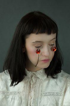 Jewellery For The Face by Akiko Shinzato   Yellowtrace