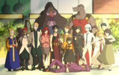 Manga Anime, Anime Demon, Anime Art, Anime Eyes, Manhwa, Hipster Drawings, Anime Group, Anime Lindo, Jojo's Bizarre Adventure