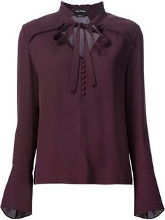 Yigal Azrouel ruffle detail blouse