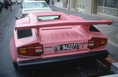 A pink lambourghini would be at the top of the list