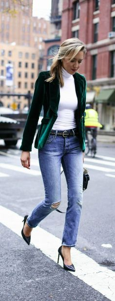 23 Winter Outfit Ideas 2017 To Try Jeans Now | Latest Outfit Ideas
