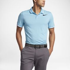 Nike Dry Tipped Polo de golf de ajuste entallado - Hombre b6d2584846102