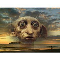 8x6 Photograph/Print Harry Potter 'Dobby' The House Elf