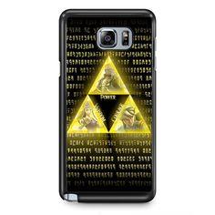The Legend Of Zelda Triforce TATUM-10840 Samsung Phonecase Cover Samsung Galaxy Note 2 Note 3 Note 4 Note 5 Note Edge