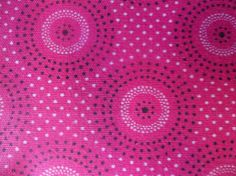 Beautiful Pink ShweShwe / South African by HASHBROWNTEXTILES Printing On Fabric, Diy Crafts, Culture, African Prints, History, My Love, Trending Outfits, Unique Jewelry, Handmade Gifts