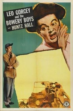 STOCK BOWERY BOYS POSTER - Leo Gorcey & the Bowery Boys - Huntz Hall - Monogram Pictures - Movie Poster.
