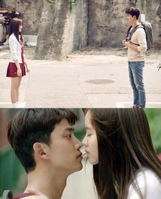 KimSoHyun kiss scene in Bring It on Ghost