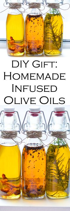 Low Cost Insurance Plan For The Welfare Of Your Loved Ones Homemade Gifts: Infused Olive Oil - Diy Holiday Gift Infused Olive Oil. Simple Homemade Gift Of Infused Olive Oils. Simple Recipes For Garlic Oil, Spicy Oil, And Rosemary Oil. I Love Olive Oil And Flavored Olive Oil, Flavored Oils, Infused Oils, Lemon Olive Oil, Garlic Olive Oil, Easy Homemade Gifts, Homemade Spices, Homemade Seasonings, Homemade Candles