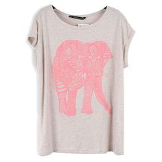 sofiesof's save of Elephant Stretch-cotton T-shirt on Wanelo