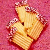 White-Chocolate Meltaways Recipe ~ Cookie press Recipe