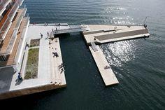 Tjuvholmen, Oslo, waterfront