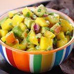Healthy Avocado Mango Salsa @ Eileen Foxhoven
