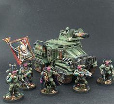 Warhammer 40k | Astra Militarum | Taurox #warhammer #40k #40000 #wh40k #wh40000…