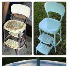 Surprising Hammers And High Heels Bringing That Antique Metal Stool Lamtechconsult Wood Chair Design Ideas Lamtechconsultcom