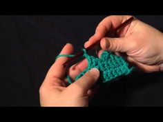 How to Crochet: Triangle Crochet Edging