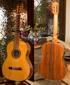The Tiger, Bolivian Rosewood B&S, Cedar top Concert Classical Guitar