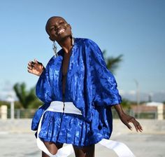 Fashion stylist and blogger, Lisa Marshall, looking super happy in this royal blue garment for STYLEHUB   #royalblue #bluedress #bluefashion #fashion #style #happy Super Happy, Blue Fashion, Fashion Stylist, Blue Dresses, Royal Blue, Lisa, Kimono Top, Cover Up, Stylists