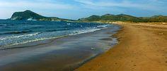 Playa los Genoveses Cabo de Gata hacia poniente