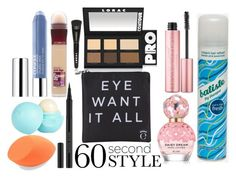 """""""60 Second Style"""" by teenstylez ❤ liked on Polyvore featuring beauty, Maybelline, LORAC, Too Faced Cosmetics, Eyeko, River Island, Clinique, Kevyn Aucoin, Marc Jacobs and Batiste"""
