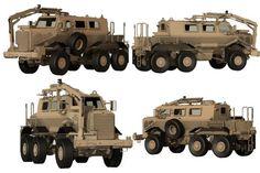 Buffalo A2 MPCV Mine Protected Clearance vehicle data sheet ...