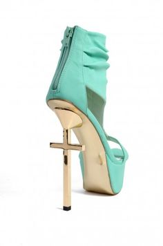 Privileged Harty Heels in Mint | Privileged Shoes | ShopAKIRA.com