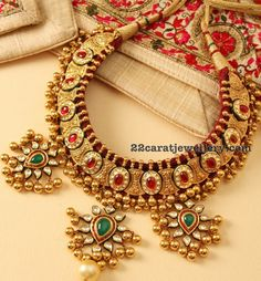 Ethnic Tussi Balls Necklaces