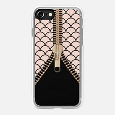 CASETiFY iPhone 11 Pro Case - Dusty pink scallop zipper by maria kritzas Iphone 7 Plus, Iphone 8, Iphone Cases, Telephone Iphone, Hard Phone Cases, 6 Case, Dusty Pink, Tech Accessories, Mermaids