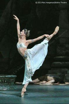 """<<Evgenia Obraztsova (Bolshoi Ballet) as Nikiya in """"La Bayadère"""" # Photo © Marc Haegeman>>"""