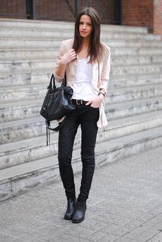 Look ファッション : 春のシンプルコーディネート