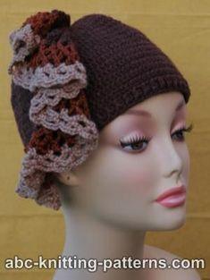 FREE Pattern - Crochet Hat with ruffle