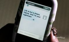 """pretty little liars a messages - Google Search  """"Life is but a dream Hanna. And I'm your nightmare. -A"""""""