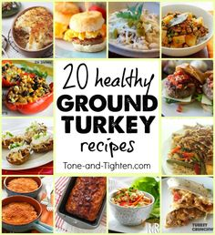 Healthy Ground Turkey Recipes on Tone-and-Tighten.com
