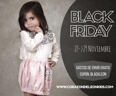 BLACK FRIDAY #kids #corazondeleonkids #moda #madeinSpain #blackfriday #AW15-16 #wintercollection
