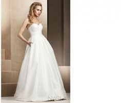 Znalezione obrazy dla zapytania sukna ślubna mikado One Shoulder Wedding Dress, Wedding Dresses, Celebrities, Model, Weddings, Fashion, Bride Dresses, Moda, Bridal Gowns