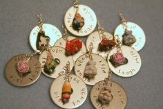 The little pencil on is all mine! Charm swap - Beads Of Courage event :: All Pretty Things