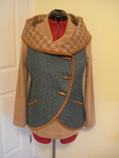 Circular vest - pattern/tutorial with ideas for different stylings