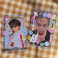 Polaroid Decoration, Nct, Kpop Diy, Cute Journals, Pop Collection, Journal Aesthetic, Kpop Merch, Cute Stickers, Aesthetic Pictures