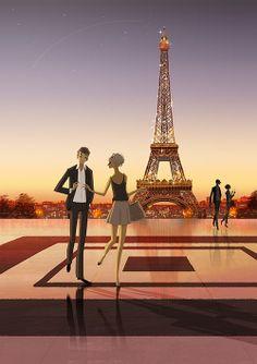 #Paris - The Art Of Animation, Matthieu Forichon