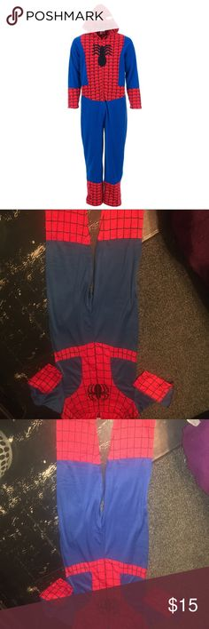 Adult Spiderman Onesie NWT Adult Spiderman Onesie New with tags Brand New Never Worn. Super warm pj Marvel Other