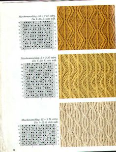 Burda 1990 4 Maschenmuster - Isabela - Knitting 2 - Álbumes web de Picasa