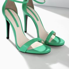 ZARA - NEW THIS WEEK - HIGH HEEL SANDAL WITH NARROW STRAPS