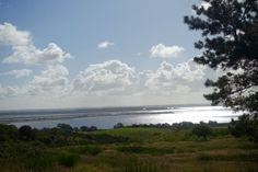 Am Aussichtspunkt auf Hiddensee