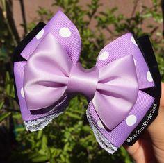 I love this purple pastel version of our Minnie bow  #disney #disneyland #disneyworld #disneylove #disneylandparis #disneygram #disneyside #disneybound #disneyprincess #princess #mickeymouse #mickey #etsy #handmade #tsumtsum #instacute #instadisney #love #thursday #goodmorning #waltdisneyworld #wdw #epcot #sleepy #minniemouse #minnie by preciouswonderland