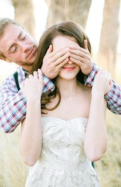 Part Engagement photo. Cover the eyes in engagement session and open her eyes during the wedding session! Wedding Shoot, Dream Wedding, Wedding Day, Wedding Dreams, Pre Nuptial Photos, Wedding Photography Inspiration, Wedding Inspiration, Engagement Session, Engagement Photos